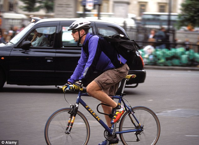 'Learning how to be more considerate - and wearing gloves - could help make cycling a safer way to travel'