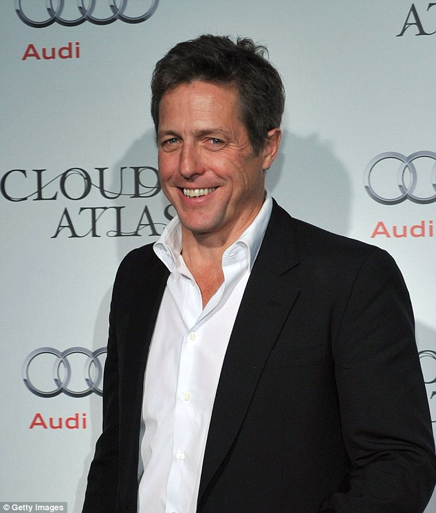 Hugh Grant, 53, is said to have had a son with Swedish TV producer Anna Elisabet Eberstein 16 months ago