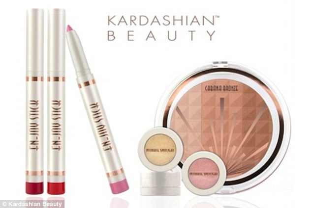 Kim, Kourtney, and Khloe Kardashian are denying they had anything to do with changing the name of their debut make-up line from Khroma to Kardashian Beauty