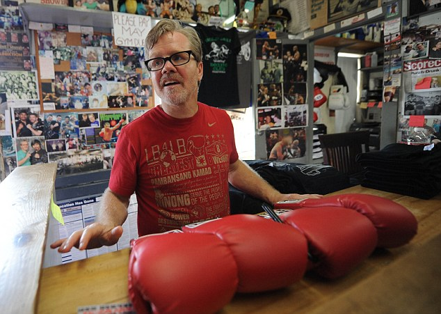 Respected figure: America's Freddie Roach is widely thought of as the best trainer in the world