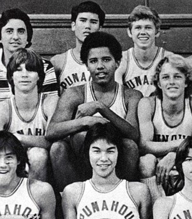Choom: The gang, whose other passions were beer and basketball, even made up rules about the smoking of 'bud'. Obama was particularly fond of the 'interception' and 'roof hits', according to a biography