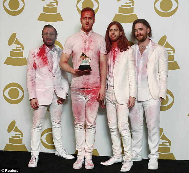 Their turn! Imagine Dragons - who won a Grammy Award on Sunday night - will be appearing on SNL this coming weekend with Melissa McCarthy