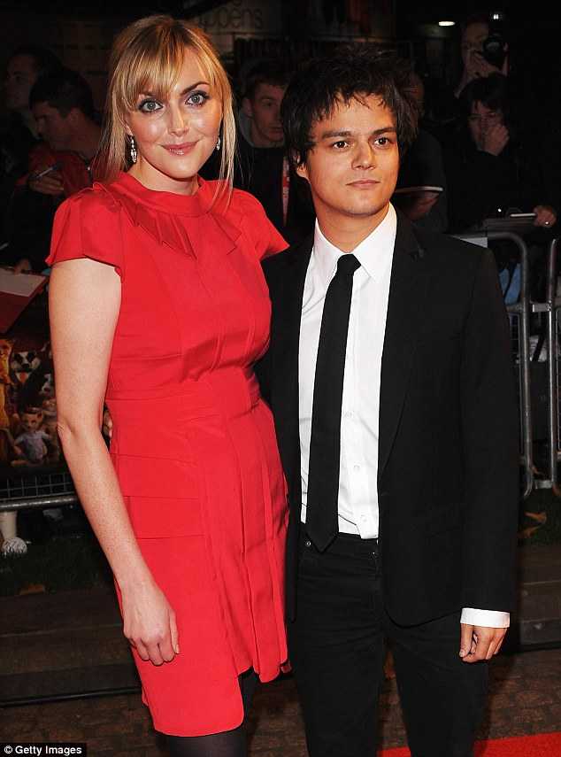 Happy families: Sophie credited her husband Jamie Cullum with helping her to create the perfect home life she had always dreamed of by giving her the support and 'emotional freedom' to pursue her goals