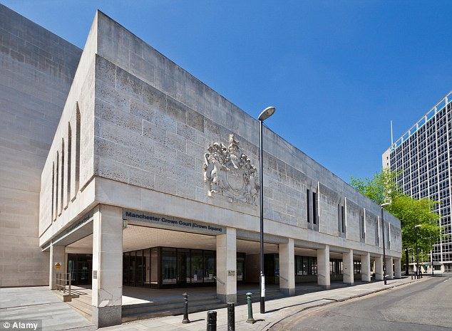 Manchester Crown Court heard that on one occasion, the middle-aged prowler was lurking a the victim pulled out of the car park, and another he was seen darting between a phone box and a kiosk outside the victim's office