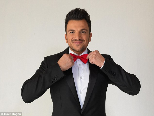 Delighted: Peter Andre's new song Kid is the official track for the new DreamWorks Animation Mr.Peabody & Sherman