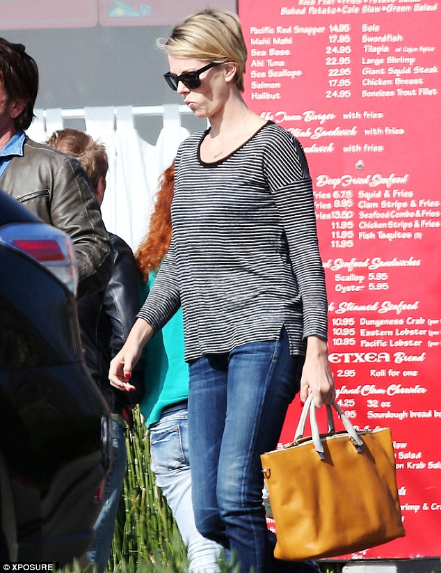 Getting serious: Charlize has invited Sean to spend more time with her and Jackson over the last month