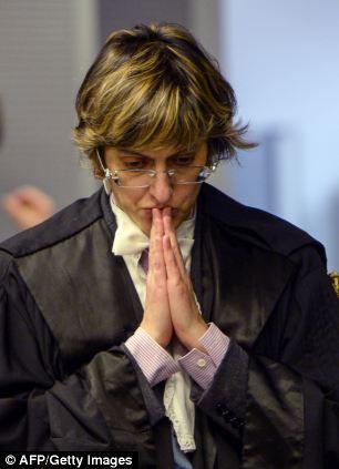 Raffaele Sollecito's lawyer, Giulia Bongiorno