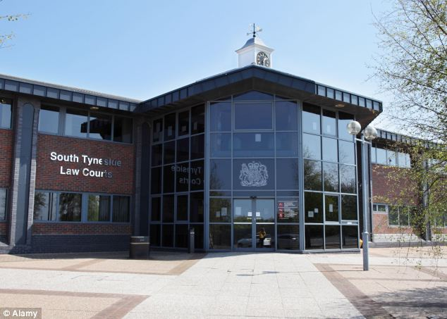 Case: Hastings has been handed a nine-week suspended jail sentence after admitting drink-driving at South Tyneside Magistrates' Court (pictured). He has also been banned from driving for two years and eight months