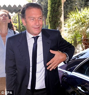 Foreign investor: Cagliari president Massimo Cellino has been interested in buying the club