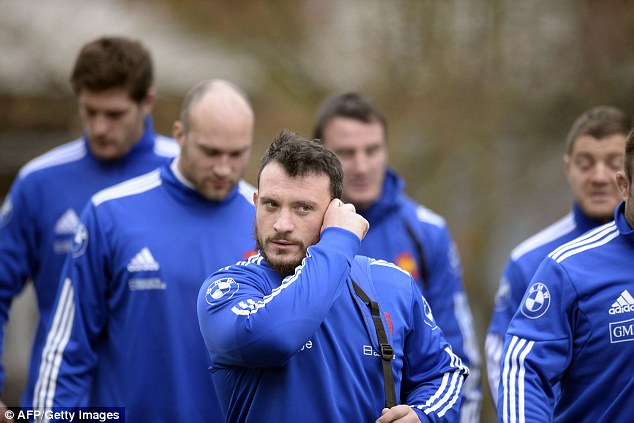 French force: The new scrum laws favour France and Thomas Domingo will be confident against Dan Cole