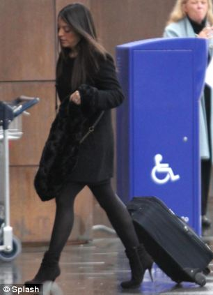 Stephanie Kercher at Florence Airport