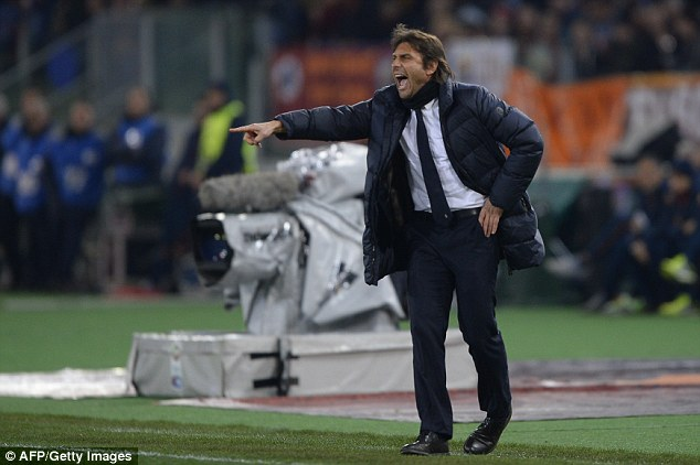 Addition: Juventus coach Antonio Conte is looking to add more firepower to his league-leading side