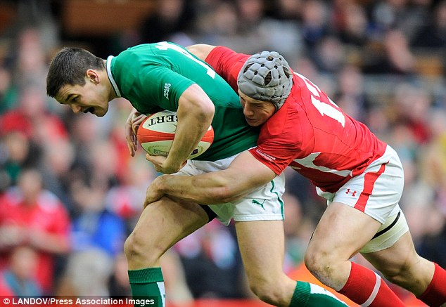 Fly-half: Sexton has been a big part of Ireland's international rugby over the past five years