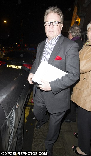Jim leaves the Palace Theatre and heads to a Chinese restaurant to dine with friends