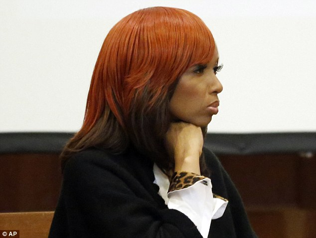 Guilty: Natasha Stewart, also known as Pebbelz Da Model was found guilty of culpable negligent manslaughter in the death of an Atlanta woman who received illicit silicone buttocks implants in 2012