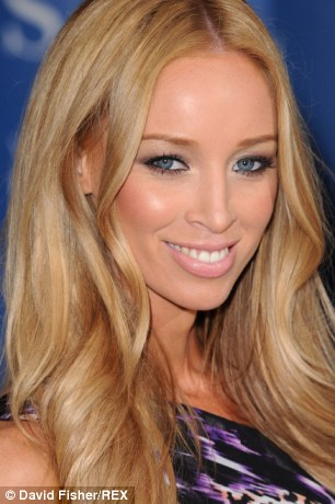 Just say neigh: TOWIE star Lauren Pope is a fan of her big, white teeth