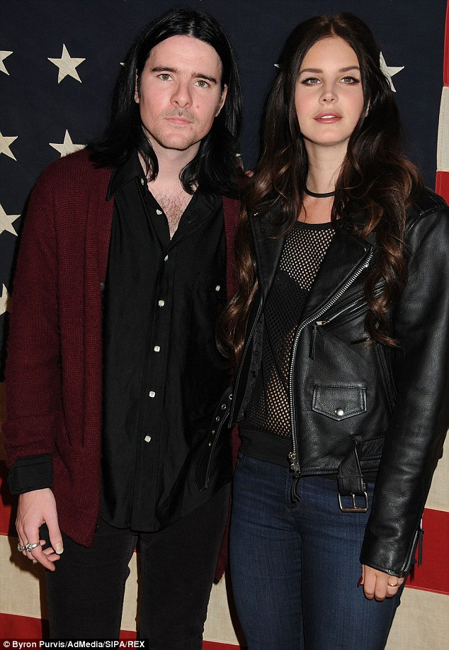 No secrets here? Lana Del Rey and her Kassidy rocker beau Barrie-James O'Neill were seen at a West Hollywood Nylon and Wildfox party in November 2013, where the starlet wore the ring