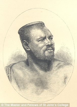 Sympathy: A portrait of the Zulu leader taken from one of Colenso's books