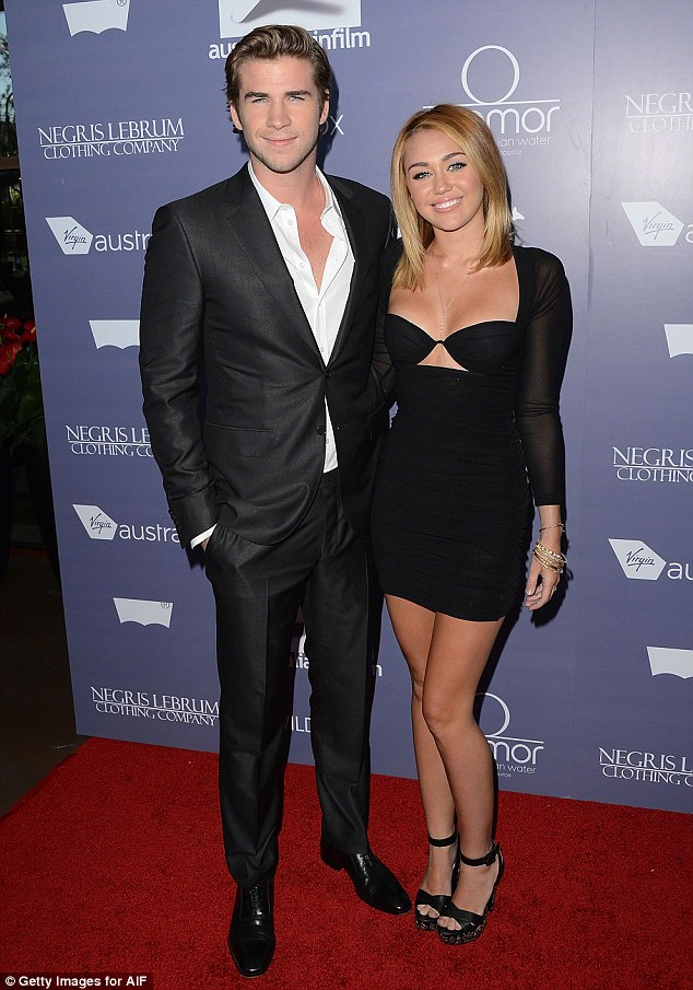 End of the road: Miley and Liam confirmed they had split in September 2013, after being together for two years, pictured in LA in 2009