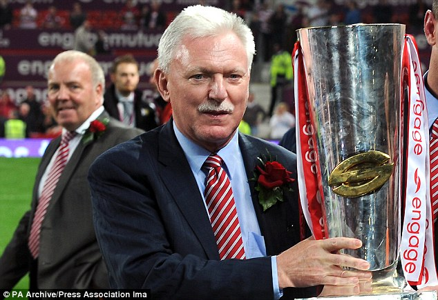Slammed: Wigan Warriors chairman Ian Lenagan has criticised the new TV deal for selling the game short