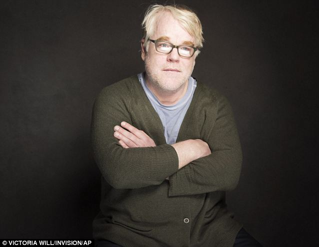 Struggling: Friends have described Hoffman's final days as troubled. It has emerged the star binged on a cocktail of drugs over the weekend of his death