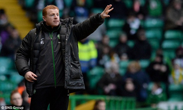 Target: Lennon was targeted by missile-throwing Aberdeen fans