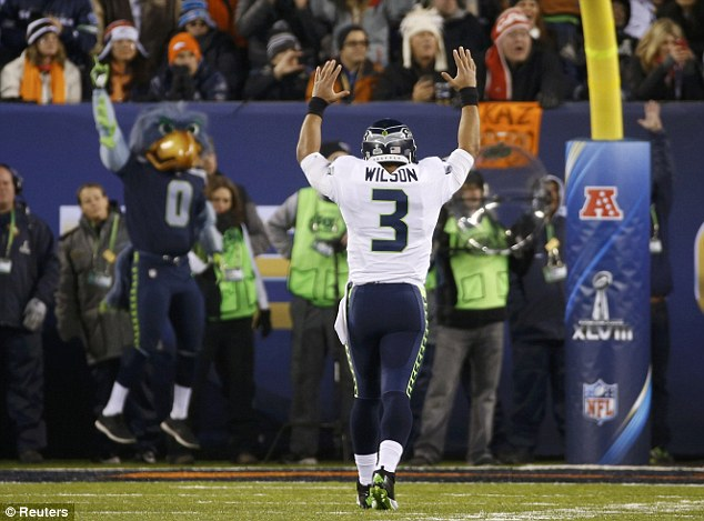 Near perfect: Russell Wilson was brilliant in Seattle's victory