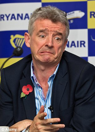 Making changes: Ryanair boss Michael O'Leary