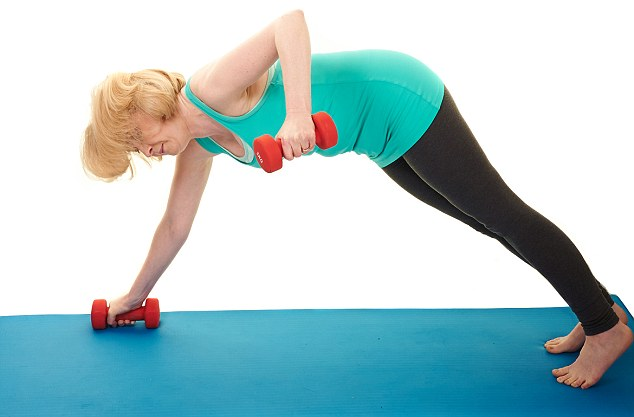The MuTu programmes requires you to undertake 30 minutes of exercise a day. This comprises ten minutes of core exercises, which are supposed to knit together and strengthen the deepest layer of muscles, the transversus abdominis, in the stomach