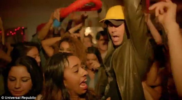 Party time: Enrique joined forces with Pitbull for his new track ahead of the release of his 10th studio album Sex + Love
