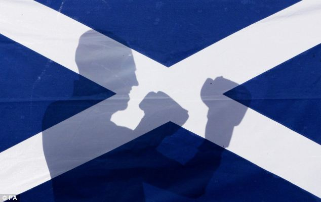 There are fears billions of pounds in trade between Scotland's financial services sector and the rest of the UK will be threatened by independence