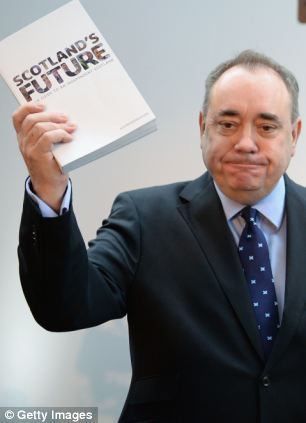 Scottish First Minister Alex Salmond has argued that Scotland would be better off if it was independent