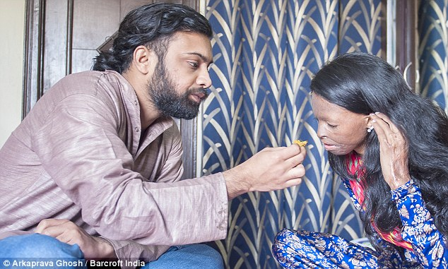 Tenderness: The couple live together in India but have shunned social convention and decided against getting married