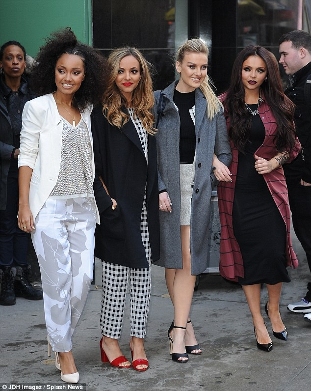Sport Relief: The girls are also promoting their single Word Up for the charity