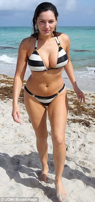 Figure of eight: Kelly's body type is much sought after because of her fabulous figure