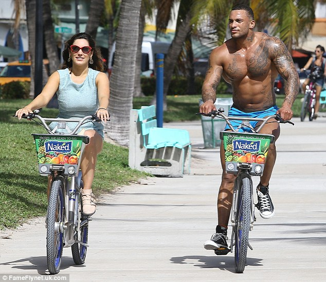 I like to ride my bicycle: The new couple seemed to be the picture of contentment as they meandered down the boulevard on their bicycles