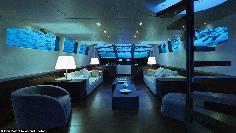 Luxurious: The Mile-Low Club promises to deliver a world-class service that leaves couples able to relax, unwind and enjoy the secluded ocean isolation