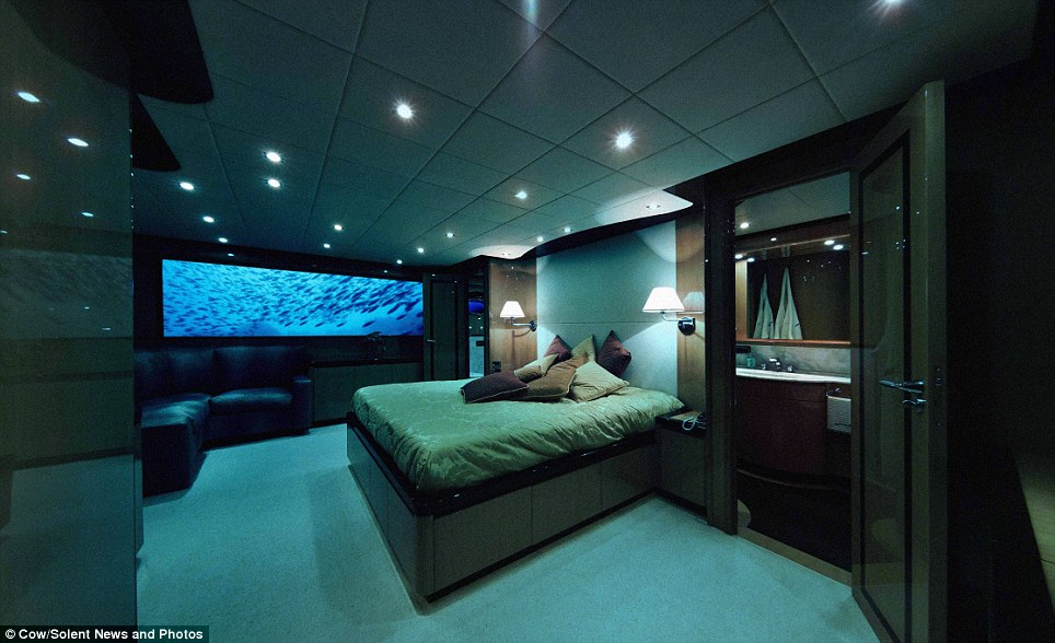 Fancy pushing the boat out this Valentine's Day? Why not rent a romantic submarine for £175,000?