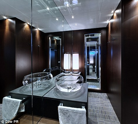 Custom built: For £175,000, the proud renter can custom design the entire submarine to his or her tastes