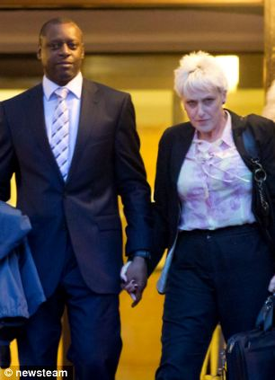 Trevor Gray, eaves Birmingham Crown Court with ex wife Alison Gray