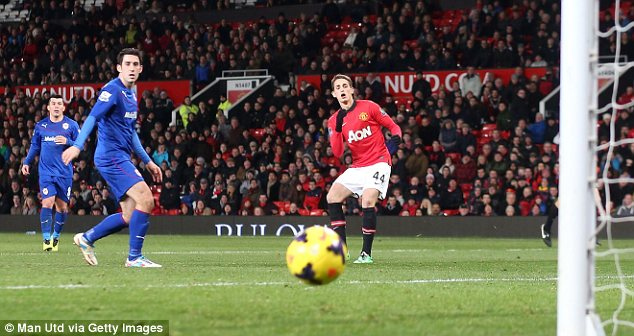 Impressive: Adnan Januzaj was named player of the month by United fans