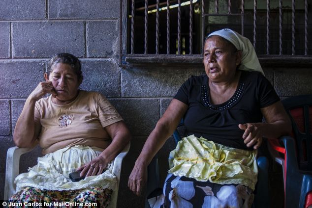 Dreams: His mother Maria Julia Alvarenga, left, told MailOnline that she had dreams that he was still alive