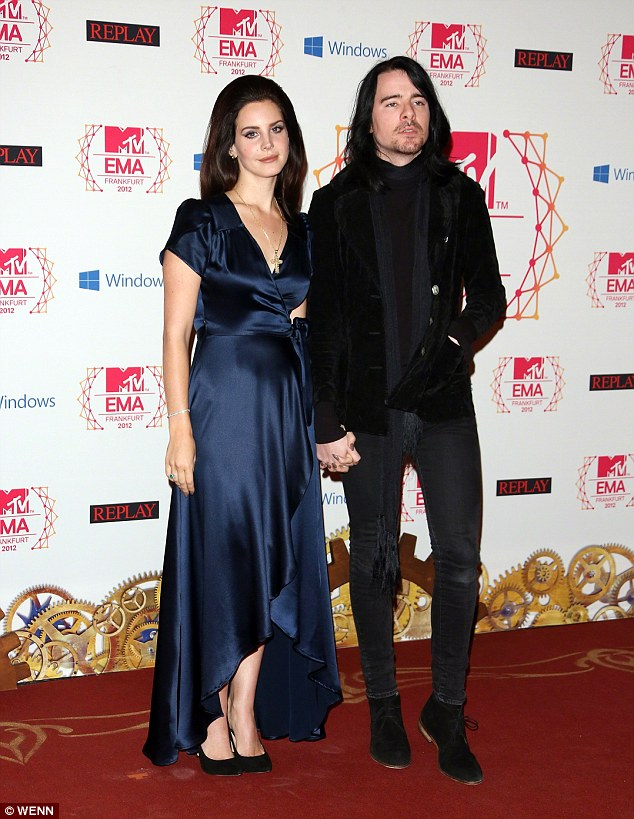 Are they engaged? Seen here two years ago, Lana has been dating boyfriend Barrie-James O'Neill since 2011