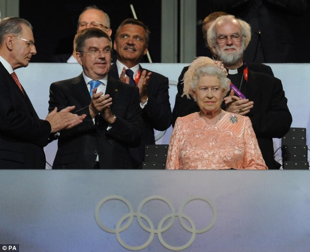 Princess Anne's mother Queen Elizabeth was happy to take part in the opening ceremony in London 2012 - despite her daughter's opinion