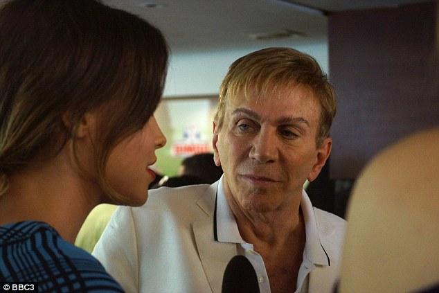 Svengali: Miss Venezuela president Osmel Sousa speaks to BBC reporter Billie JD Porter