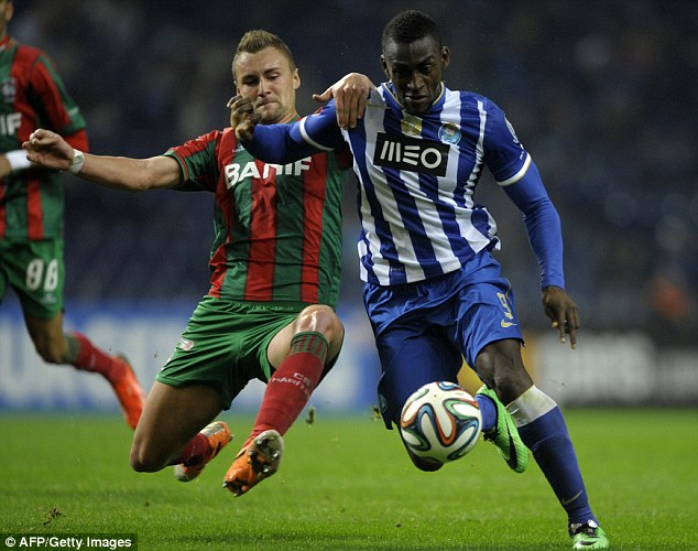 Hot property: Jackson Martinez has been linked to several Premier League clubs over the last year