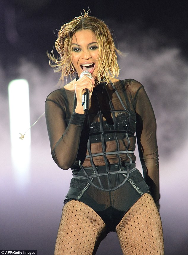 Beyonce was never fat; but she did used to have thighs you could crack walnuts with. Her physical strength and dancer's dexterity were palpable and part of her appeal