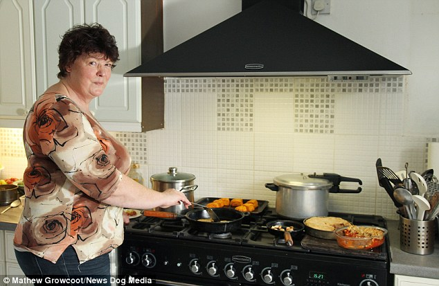Tight-budget: She learned to make the cut-price meals while providing for her two daughters while the family was homeless in the 1970s