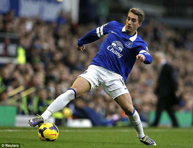 Moving on: Gerard Deulofeu was sent on loan to Everton after he stopped progressing at Barcelona B