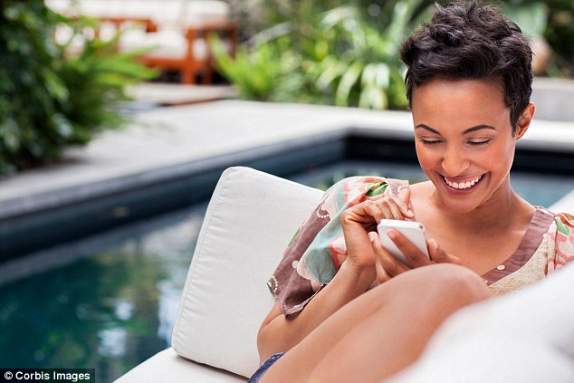 Checking in: Having access to wi-fi while on a break has become a key requirement for holidaymakers
